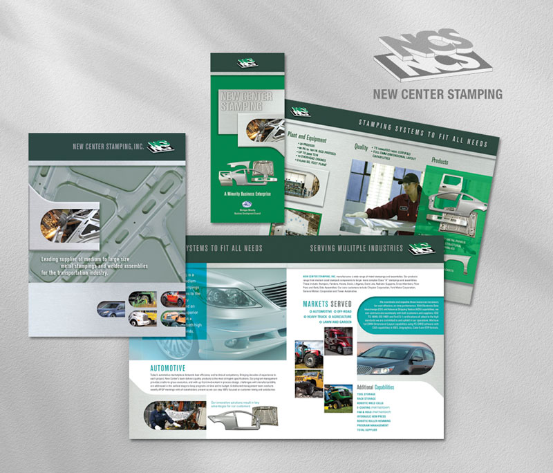 Web collateral new center