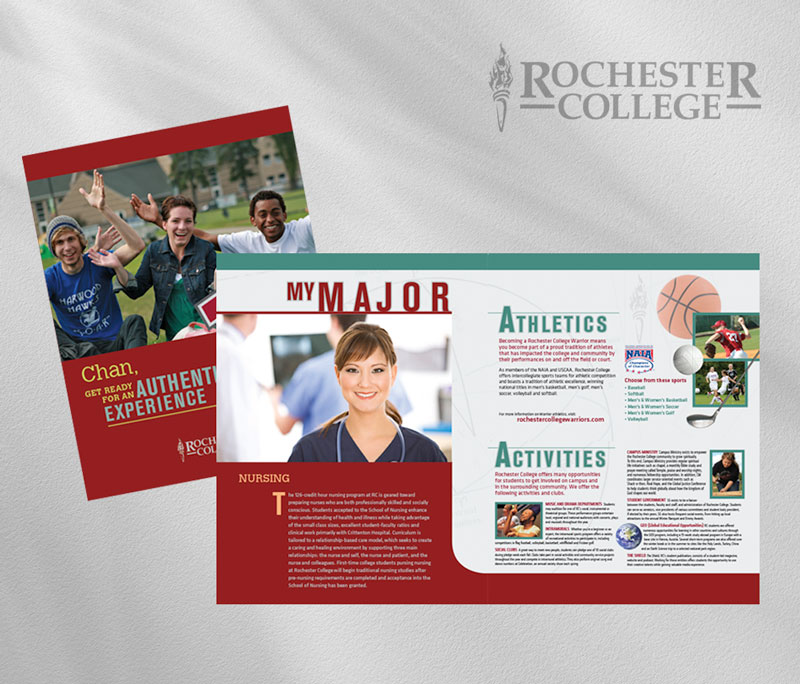 Rochester College collateral