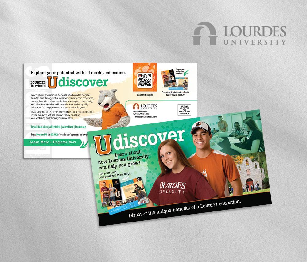 Lourdes college direct mail
