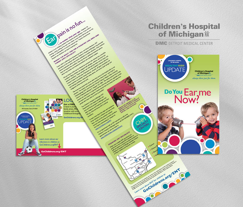 Children's hospital direct mail