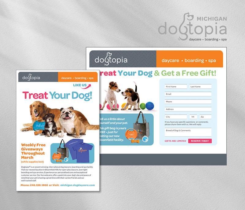 Dogtopia social media