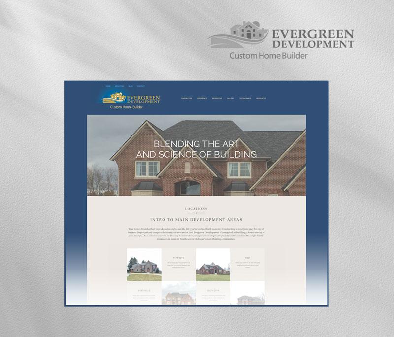 Evergreen Development homepage