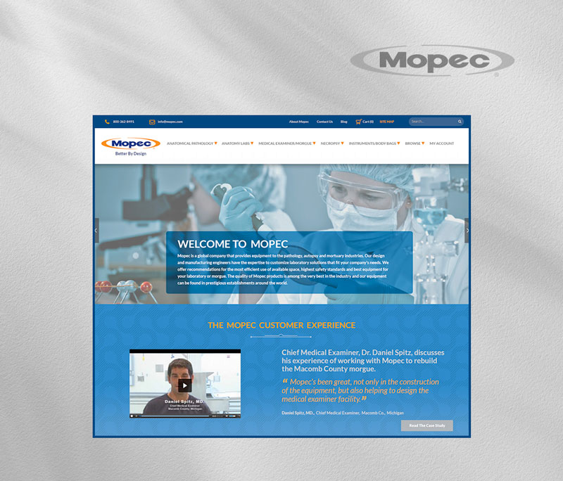 Mopec homepage