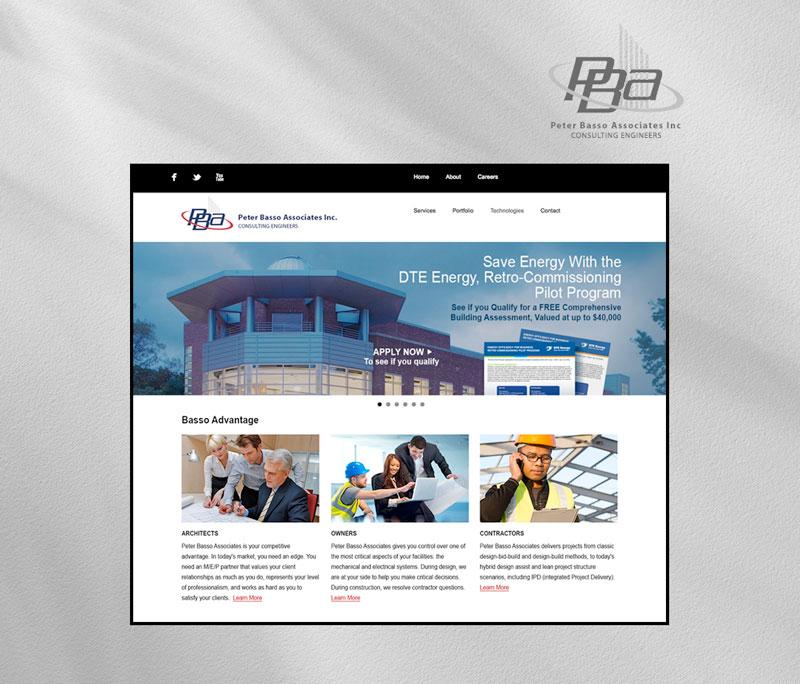 Peter Basso Associates Inc. homepage